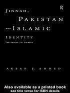 Jinnah, Pakistan and Islamic identity : the search for Saladin