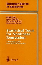 Statistical tools for nonlinear regression : a practical guide with S-PLUS examples