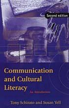 Communication and cultural literacy : an introduction