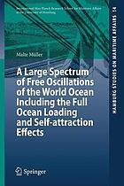 A large spectrum of free oscillations of the world ocean including the full ocean loading and self-attraction effects