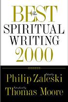 The best spiritual writing 2000