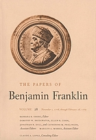 The papers of Benjamin Franklin. Vol. 28, November 1, 1778, through February 28, 1779