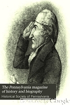 The Pennsylvania magazine of history and biography.