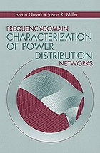 Frequency-domain characterization of power distribution networks