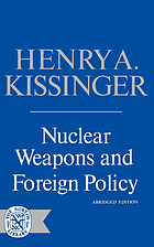 Nuclear weapons and foreign policy