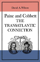 Paine and Cobbett : the transatlantic connection