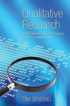 Qualitative research : a multi-methods approach to projects for Doctor of Ministry theses