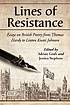 Lines of resistance : essays on British poetry... by  Adrian Grafe