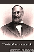 Granite state monthly.