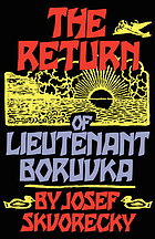 The return of Lieutenant Boruvka : a reactionary tale of crime and detection