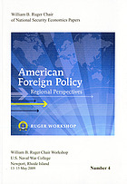 American foreign policy : regional perspectives