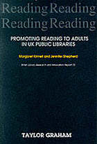 Promoting reading to adults in UK public libraries