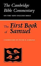 The book of Samuel / The first book.
