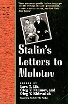 Stalin's letters to Molotov, 1925-1936