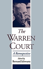 The Warren Court : a retrospective