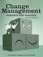 Change management : concepts and practice