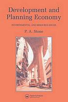 Development and planning economy : environmental and resource issues