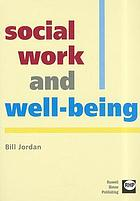 Social work and well-being