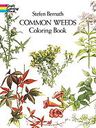 Common weeds : coloring book