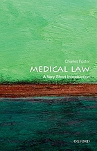 Medical law : a very short introduction