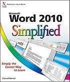 Word 2010 simplified