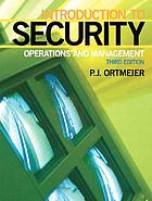 Introduction to security : operations and management