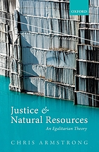 Justice and natural resources.