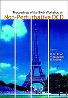 Proceedings of the Sixth Workshop on Non-Perturbative QCD : Paris, France, 5-9 June 2001