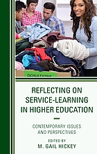 Reflecting on service-learning in higher education : contemporary issues and perspectives