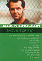 Jack Nicholson : movie top ten