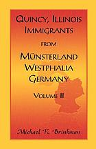 Quincy, Illinois, immigrants from Münsterland, Westphalia, Germany