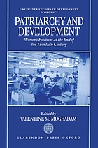 Patriarchy and economic development : women's positions at the end of the twentieth century