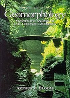 Geomorphology : a systematic analysis of late Cenozoic landforms