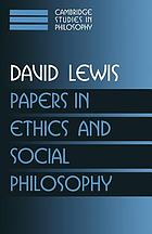 Papers in ethics and social philosophy