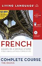Living language - French the basics Learn in 4 simple steps!