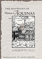 The aesthetics of Thomas Aquinas