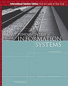 Fundamentals of information systems : a managerial approach