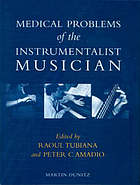 Medical problems of the instrumentalist musician