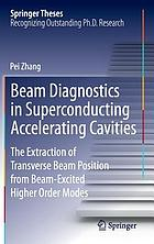 Beam diagnostics in superconducting accelerating cavities : the extraction of transverse beam position from beam-excired higher order modes