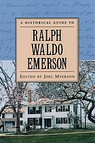 A historical guide to Ralph Waldo Emerson
