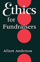 Ethics for fundraisers