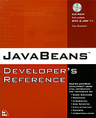 Java Beans developer's reference