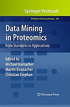 Data mining in proteomics : from standards to applications