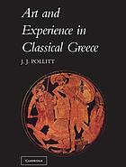 Art and Experience in Classical Greece cover image