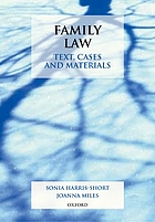 Family law : text, cases, and materials