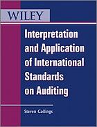 Interpretation and application of international standards on auditing