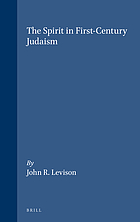 The spirit in first-century Judaism
