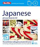 Japanese phrase book & CD.