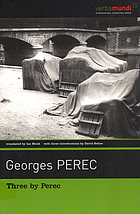 Three by Perec