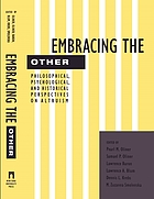 Embracing the other : philosophical, psychological, and historical perspectives on altruism